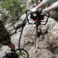 单人背包式地质浅层取样钻机