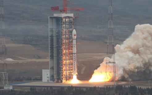 中国成功发射高分十二号卫星 用于国土普查等领域